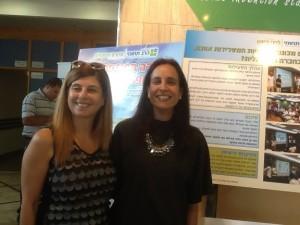 שרה לפרין מנהלת הרב תחומי ליידי דייויס תל אביב מקבוצת עמל ורויטל יהל רכזת הפרויקט